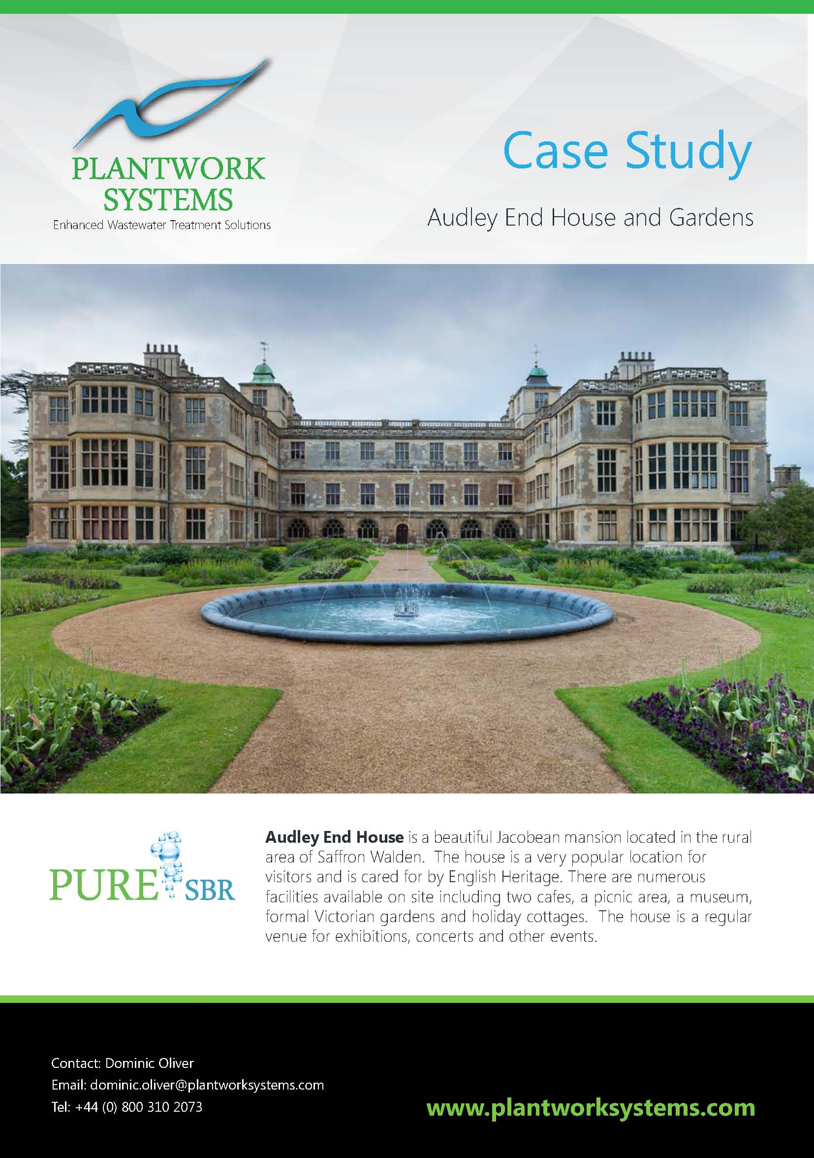 CASE STUDY-Audley End House