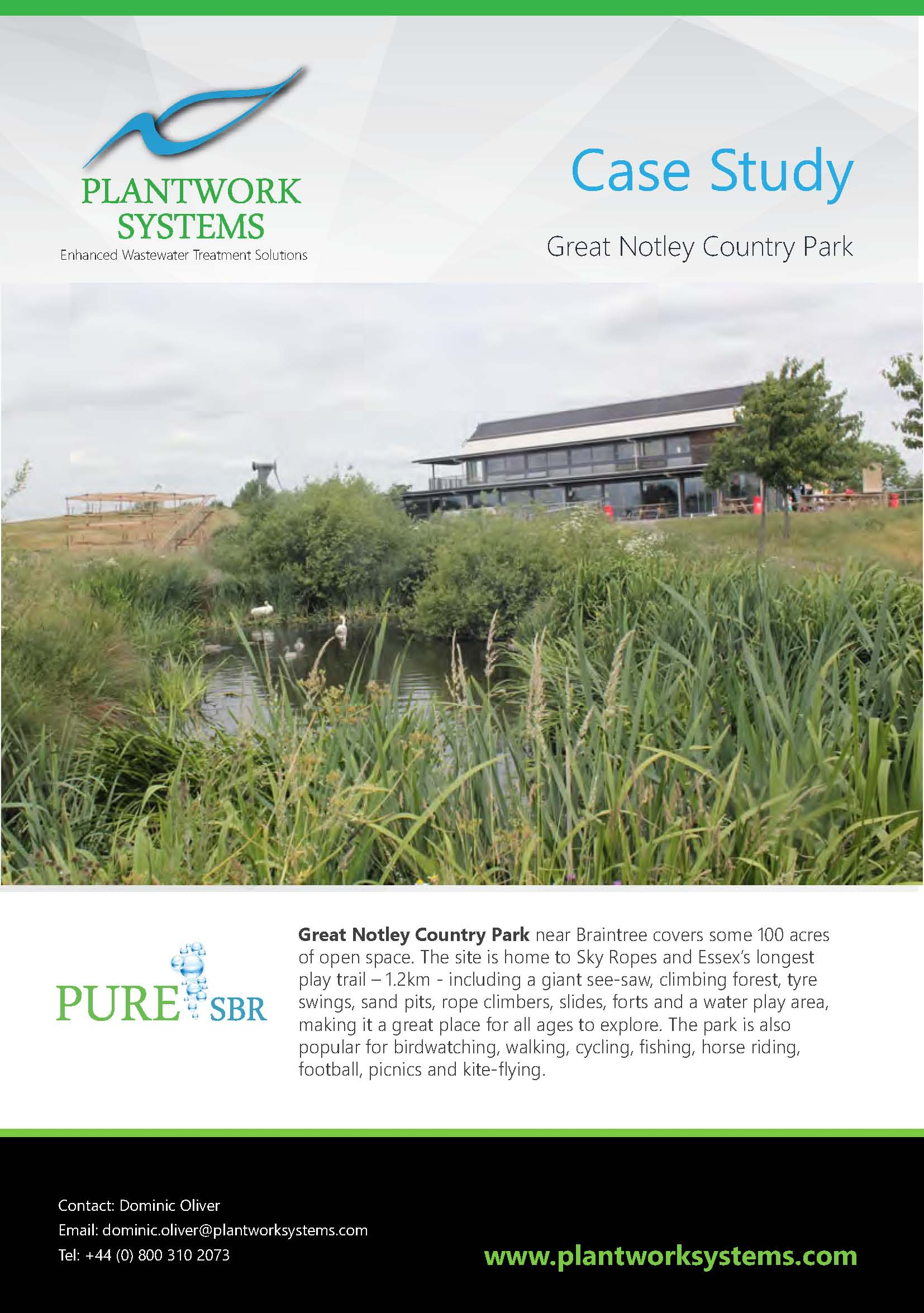 Great Notley Country Park Case Study